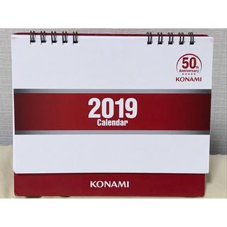 KONAMI 創業50周年記念 卓上カレンダー