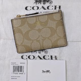 COACH - COACH コーチ コインケース キーリング付  F16107