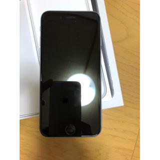 iPhone - iPhone 6s 64GB スペースグレー SIMロック解除済 本体