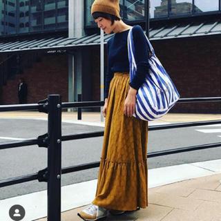 ドゥロワー(Drawer)の大草香さん着用  ロングスカート 新品タグ付ユナイテッドアローズ購入(ロングスカート)
