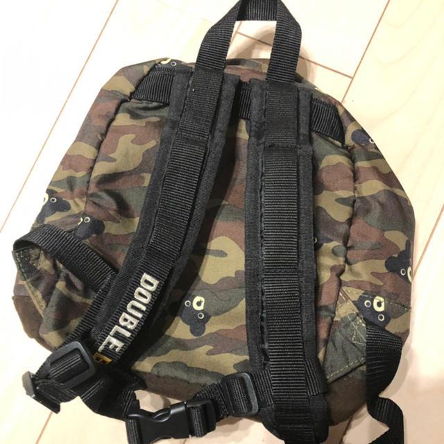 DOUBLE.B(ダブルビー)のダブルビー♡迷彩リュック キッズ/ベビー/マタニティのこども用バッグ(リュックサック)の商品写真