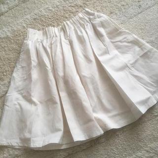 ローリーズファーム(LOWRYS FARM)のローリーズファーム♡ホワイトスカート(ひざ丈スカート)