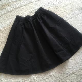 ローリーズファーム(LOWRYS FARM)のローリーズファーム♡ブラックスカート(ひざ丈スカート)