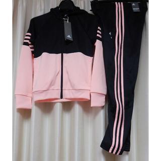 アディダス(adidas)のアディダススウェット上下セット140女児(ジャケット/上着)