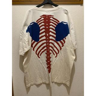 キャピタル(KAPITAL)のKAPITAL BONE 骨 トリコ Tシャツ 中古(Tシャツ/カットソー(半袖/袖なし))