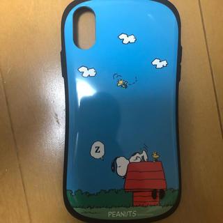 スヌーピー(SNOOPY)のiphone x(その他)