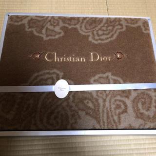 クリスチャンディオール(Christian Dior)のクリスチャンディオール 毛布 ブランケット(毛布)
