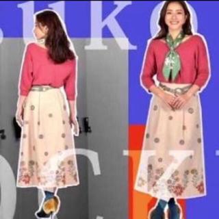 リリーブラウン(Lily Brown)のリリーブラウン ❤︎ 刺繍 ロングスカート(ロングスカート)