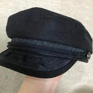 moussy - moussy マリンキャスケット BLACK