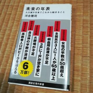 未来の年表 人口減少 日本でこれから起きること