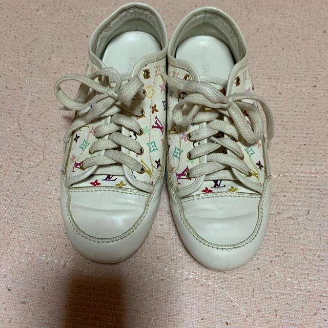 LOUIS VUITTON(ルイヴィトン)のルイヴィトン 可愛い♡スニーカー マルチカラー モノグラム351/2 レディースの靴/シューズ(スニーカー)の商品写真