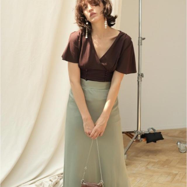 FRAY I.D(フレイアイディー)の♡サテンナロースカート♡ レディースのスカート(ロングスカート)の商品写真