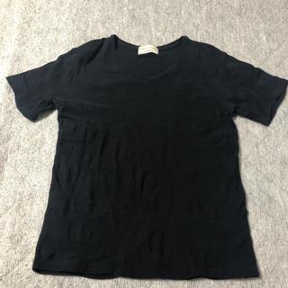 nano・universe - ナノユニバース Tシャツ ブラック M