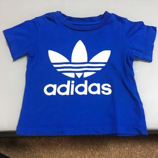 adidas - adidas Tシャツ 青 80cm