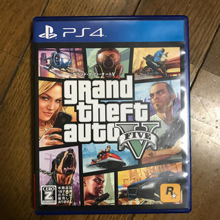 PlayStation4 - Grand Theft Auto V PS4版