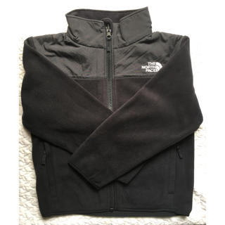 THE NORTH FACE - THE NORTH FACE 黒 フリースジャケットsize120