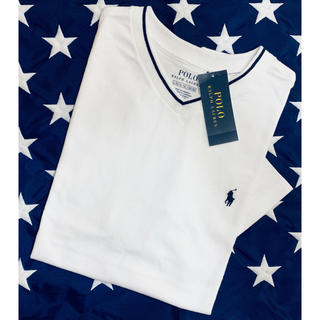 POLO RALPH LAUREN - ★SALE★ ラルフローレンVネックTシャツL/160