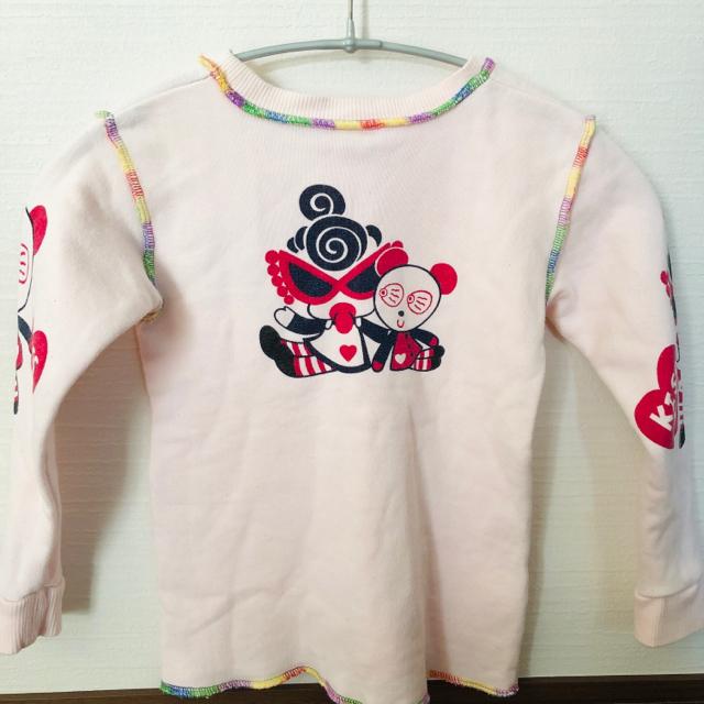 HYSTERIC MINI(ヒステリックミニ)のヒステリックミニ パステルピンク  キッズ/ベビー/マタニティのキッズ服 女の子用(90cm~)(Tシャツ/カットソー)の商品写真