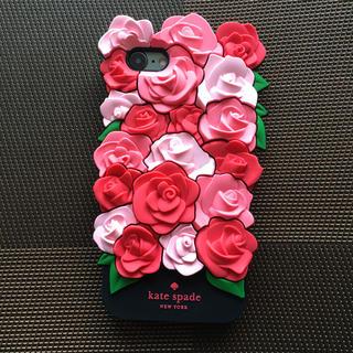 ケイトスペードニューヨーク(kate spade new york)の箱なし iPhone7/8 薔薇 シリコン ローズ ケイトスペード (iPhoneケース)