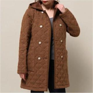 ドゥーズィエムクラス(DEUXIEME CLASSE)のtraditional whether wear キルティングコート フーデッド(ダウンコート)
