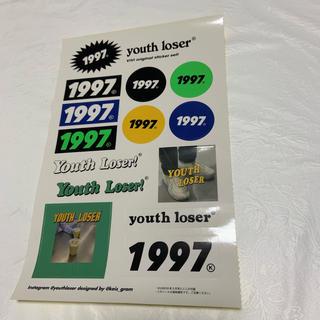 ビームス(BEAMS)の1997 youth loser ステッカー(しおり/ステッカー)
