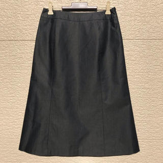 ニジュウサンク(23区)の美品 23区 スカート グレー 36(ひざ丈スカート)