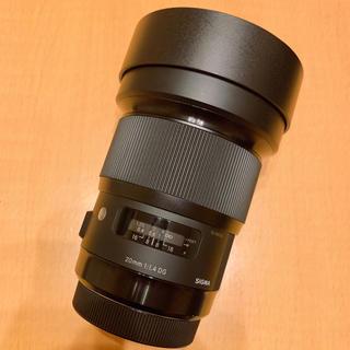 Canon - SIGMA Art 広角 20mm F/1.4 DG HSM キャノン用