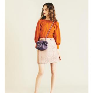 Lily Brown - 新品 lilybrown リリーブラウン ラメ ジャガード スカート ♡