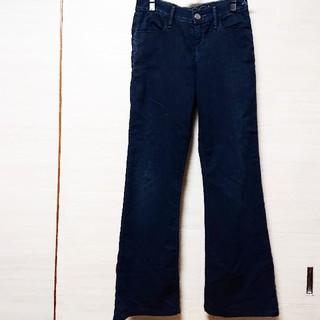 【値下げ】XS ゴールドサイン カジュアルパンツ 紺色(カジュアルパンツ)