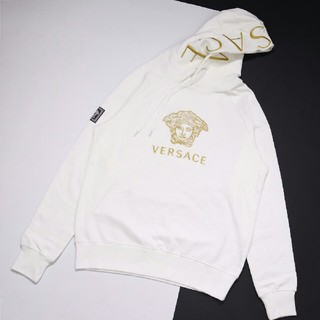 VERSACE - Versace ヴェルサーチ パーカー ホワイト メンズ 正規品