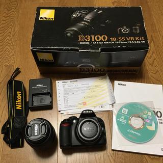Nikon - Nikon D3100 18-55 vr kit 標準レンズキット
