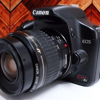 Canon - ★美品★Canon Kiss X2 レンズセット キヤノン★