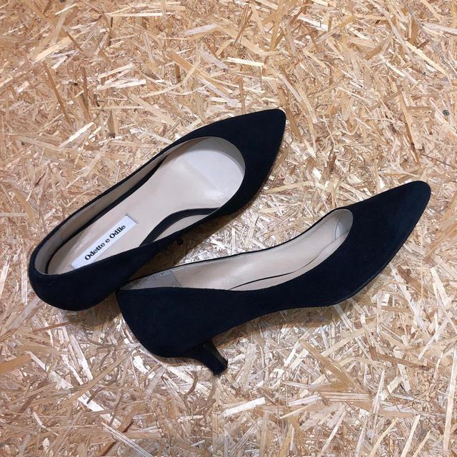 Odette e Odile(オデットエオディール)のオデットエオディール ポインテッド パンプス レディースの靴/シューズ(ハイヒール/パンプス)の商品写真