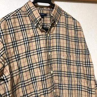 BURBERRY - 【美品】BURBERRYバーバリー★★ノバチェック長袖シャツ★Mサイズ