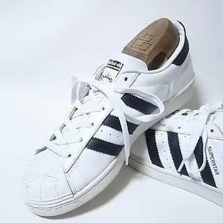 アディダス(adidas)の 限定!希少アディダススーパースター×NIGO高級コラボスニーカー白黒   (スニーカー)