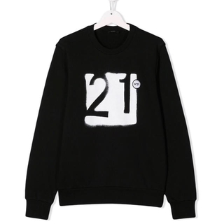 N°21 - ヌメロヴェントゥーノ N21 ! 2019AW スウェット トップス 秋冬 ロゴ