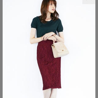 GU - レースタイトスカート