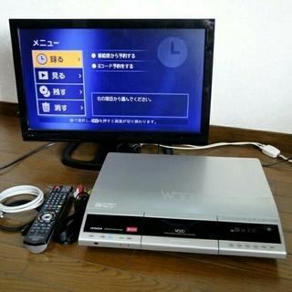 ヒタチ(日立)の日立 500GB 2番組同時録画 HDD/DVDレコーダー(DVDレコーダー)