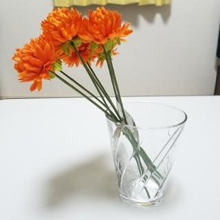 《造花》orange. オレンジマム  8本(その他)