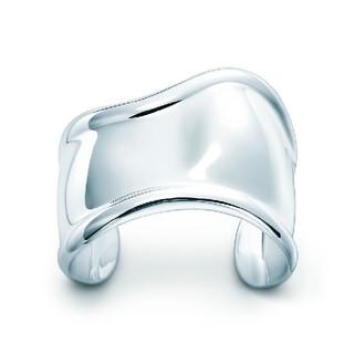 Tiffany & Co. - ティファニー ボーンカフ ブレスレット シルバー