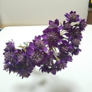 《造花》purple. アストランティア 5本(その他)