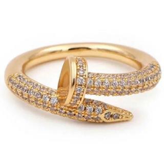 カルティエ(Cartier)の大人気✨最高級釘リング(リング(指輪))