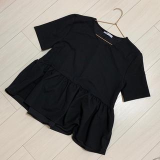 ZARA - フリルTシャツ