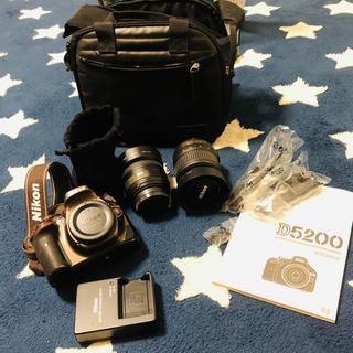 Nikon - Nikon D5200 レンズ二個セット! ブロンズ ほぼ新品