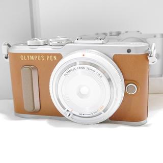 OLYMPUS - 新品★OLYMPUS  PEN E- PL8 ブラウン レンズセット