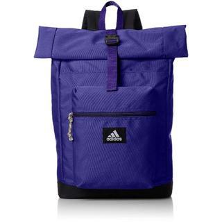アディダス(adidas)の[アディダス] ロールトップ リュック20L パープル(バッグパック/リュック)