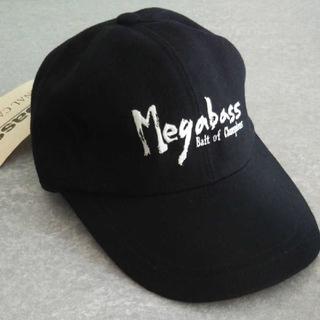 メガバス(Megabass)の【未使用】メガバスオリジナルキャップ(ウエア)