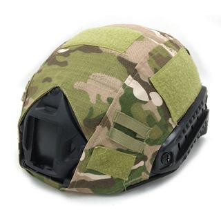 特殊部隊 OPS-COREタイプ ヘルメット用 カバー CP迷彩 FAST PJ(個人装備)