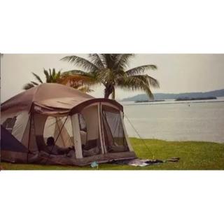 コールマン(Coleman)の試し張りのみ  2ルームテント ウェンゼル クロンダイク 8人用 テント(テント/タープ)