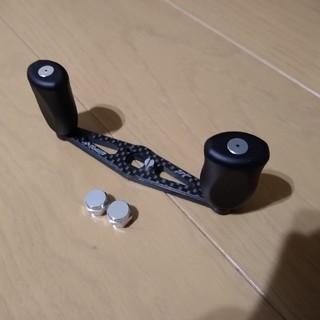 ZPIカーボンハンドル 85mm ブラック アブ・ダイワ用(リール)